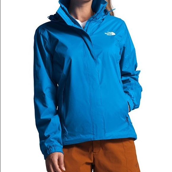 North Face Resolve Hooded Waterproof Rain Jacket